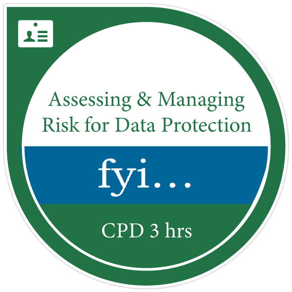 assessing and managing risk for data protection